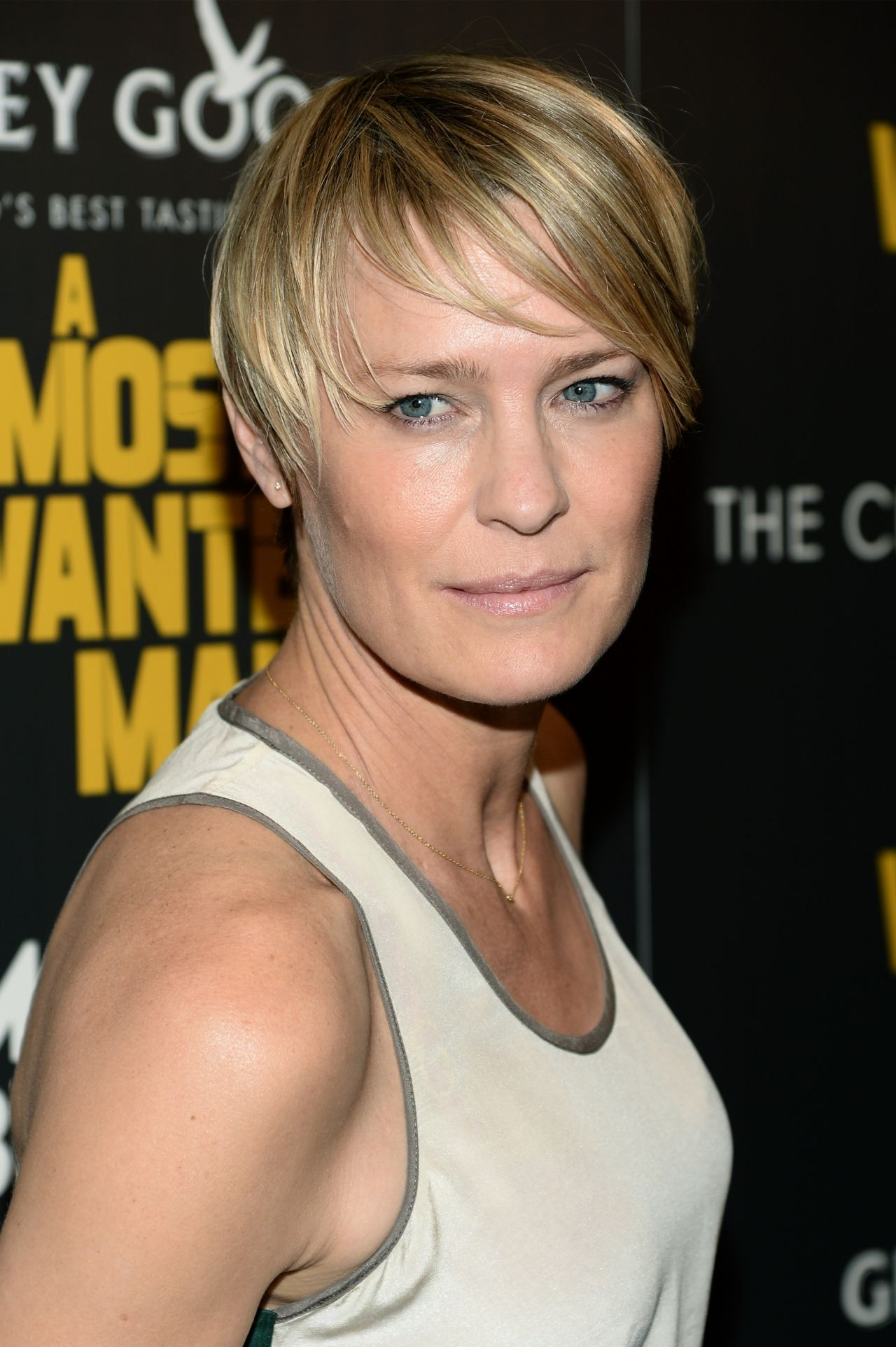 Robin Wright A Most Wanted Man Premiere In New York City