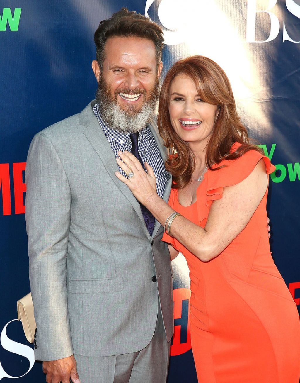 Roma Downey – CBS, The CW, Showtime Summer 2014 TCA Party