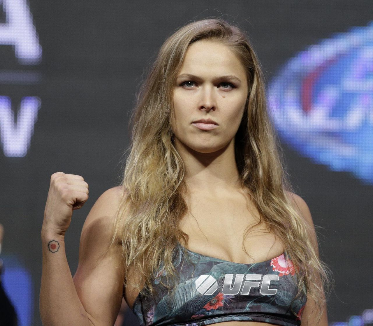 Ronda Rousey – UFC 175 Weigh-In – July 2014