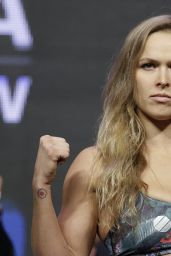 Ronda Rousey - UFC 175 Weigh-In - July 2014