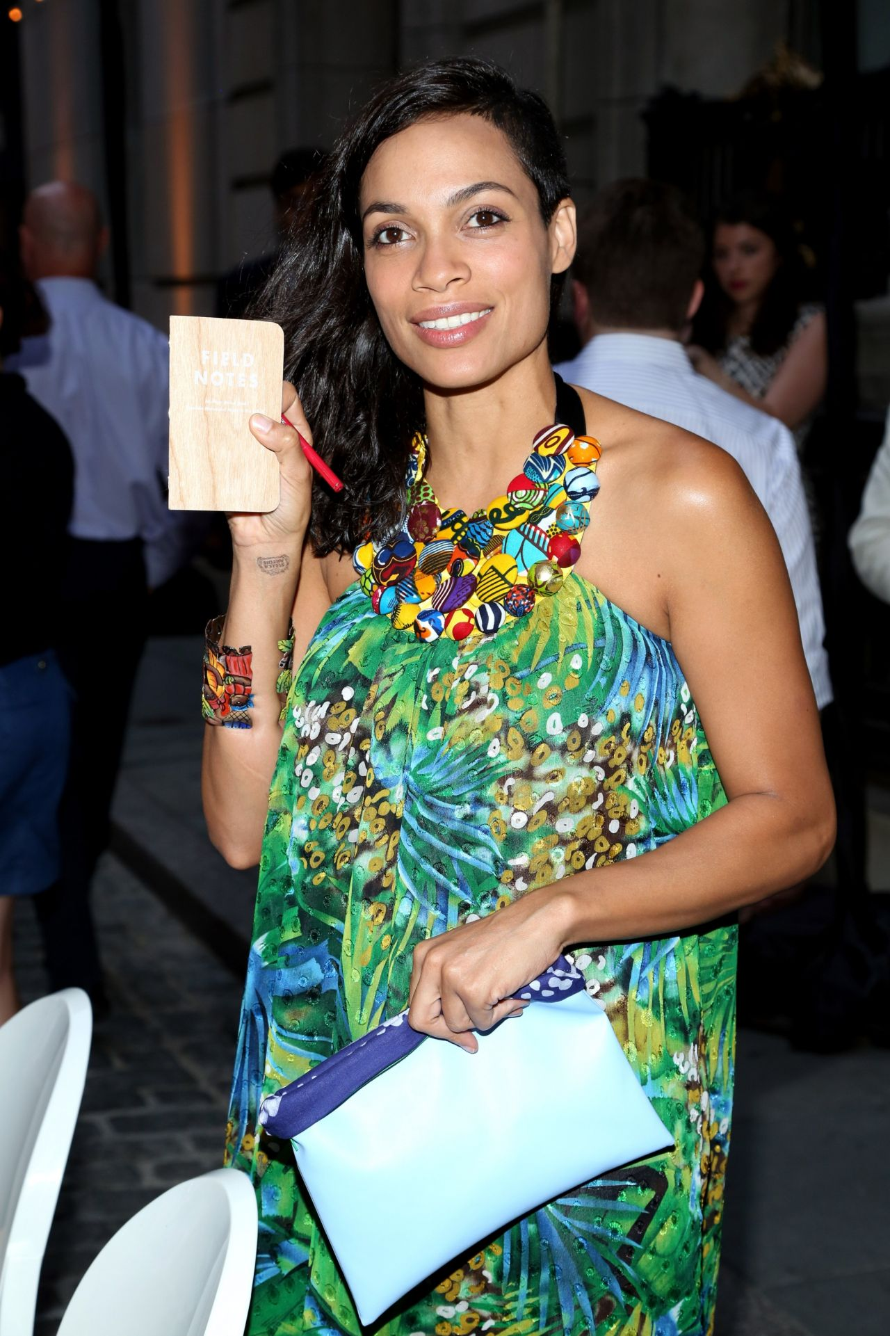Rosario Dawson - Belgian National Day Celebration - July 21, 2014
