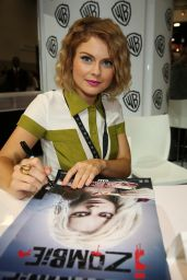 Rose McIver - Warner Bros. at Comic-Con 2014 in San Diego
