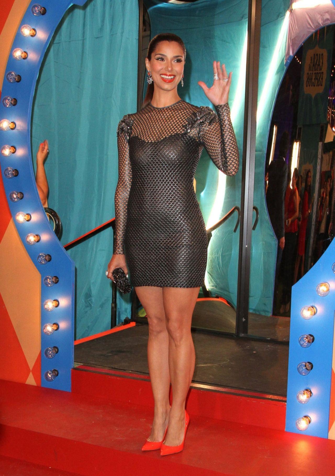 Roselyn Sanchez 2014 Premios Juventud Awards In Miami