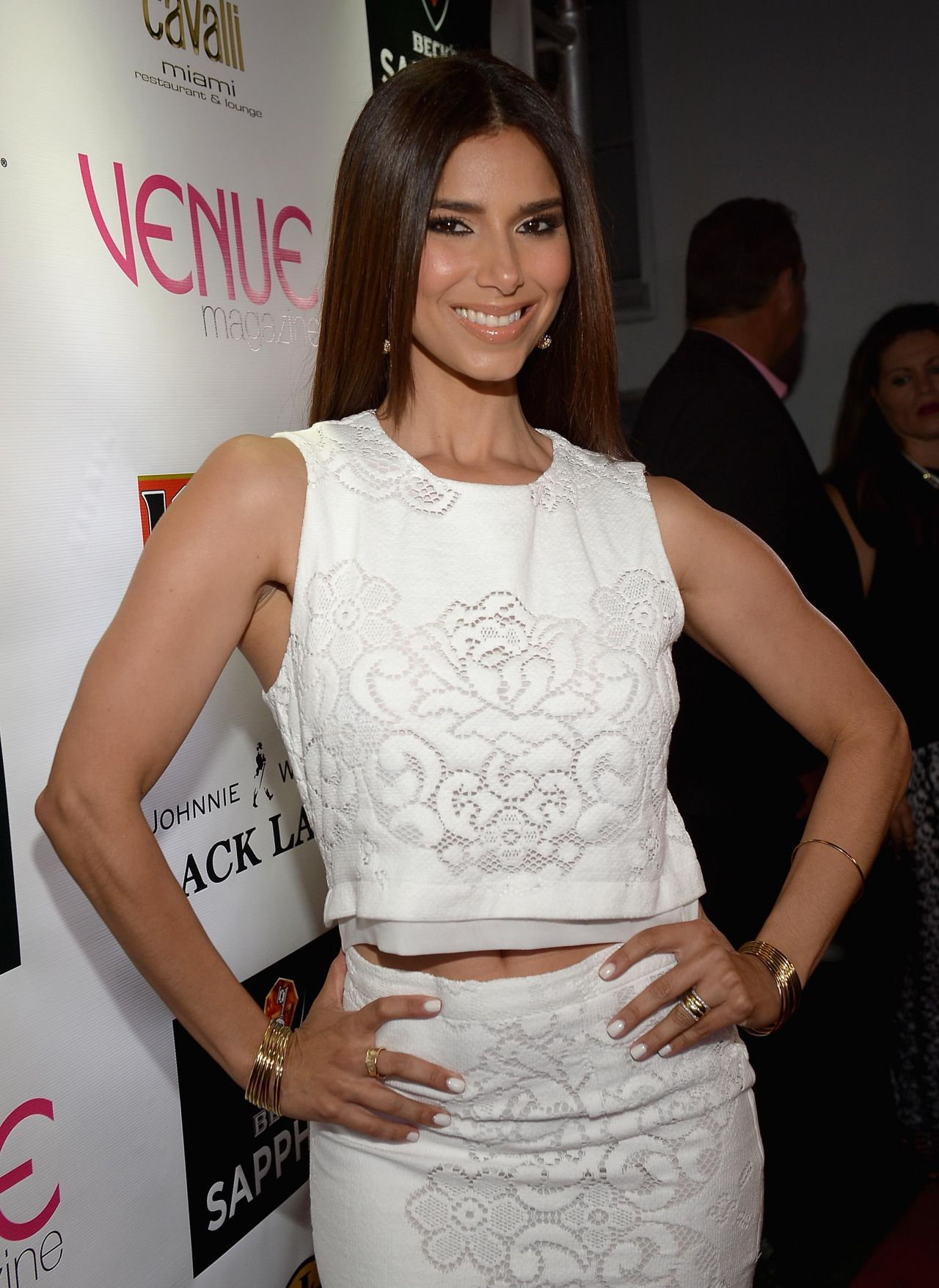 Roselyn Sanchez - Venue Magazine July-August 2014 Cover Party in Miami Beach