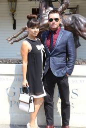 Roxanne Pallett - Audi International at Guards Polo Club in Egham - July 2014