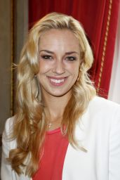 Sabine Lisicki at Press Cconference in Munich (Germany) - July 2014
