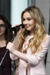 Sabrina Carpenter- Fox & Friends All American Concert Series Performance New York City - June 2014