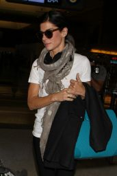 Sandra Bullock Arrives at Los Angeles International Airport - July 2014