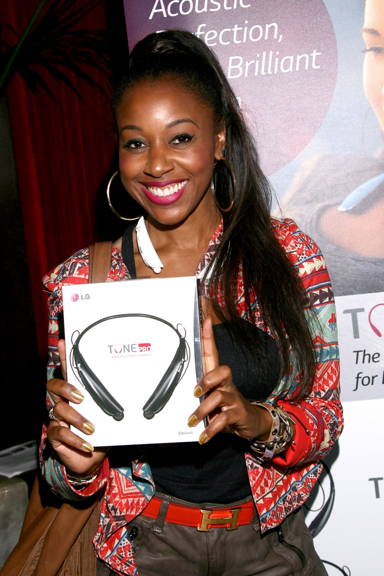 Sanya Richards-Ross - GBK Luxury Sports Lounge - July 2014