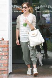 Sarah Michelle Gellar Street Style - at Charlie