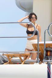 Selena Gomez and Cara Delevingne Bikini Candids - Yacht in St Tropez, July 2014