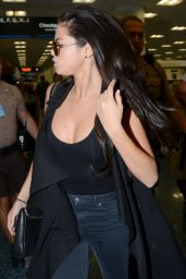 Selena Gomez at the Airport in Miami - July 2014