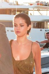 Selena Gomez & Cara Delevingne - Heading to a Party in St. Tropez - July 2014