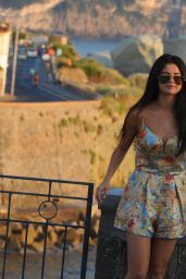 Selena Gomez Hot - Out in Ischia, July 2014