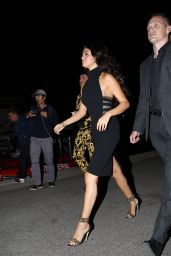 Selena Gomez Night Out Style - Going to a Restaurant in Saint-Tropez - July 2014