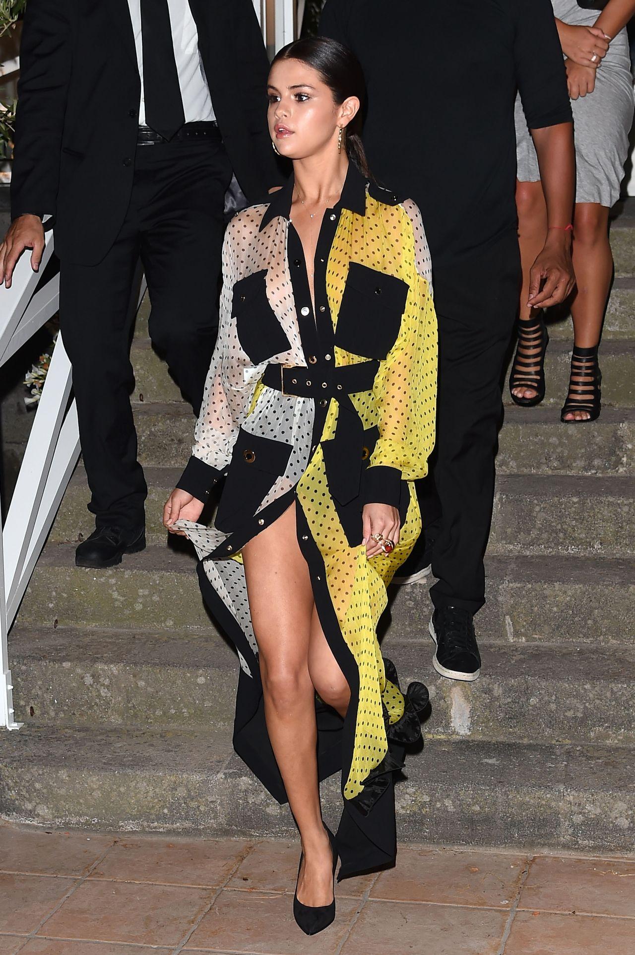 Selena Gomez Night Out Style - Ischia Global Film  Music -3527