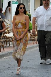 Selena Gomez - Out in Ischia (Italy) - July 2014