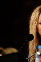 Shakira - FIFA Daily Media Briefing - July 2014