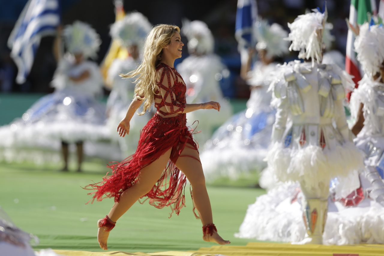 Shakira Fifa World Cup 2014 In Brasil Closing Ceremony