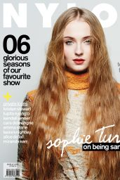 Sophie Turner - Nylon Magazine (Singapore) - July 2014 Issue