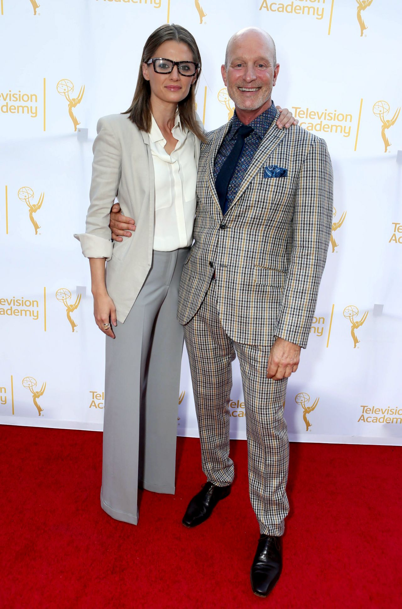 Stana Katic – Emmy Awards 2014 Costume Design and Supervision Nominee Reception in Los Angeles
