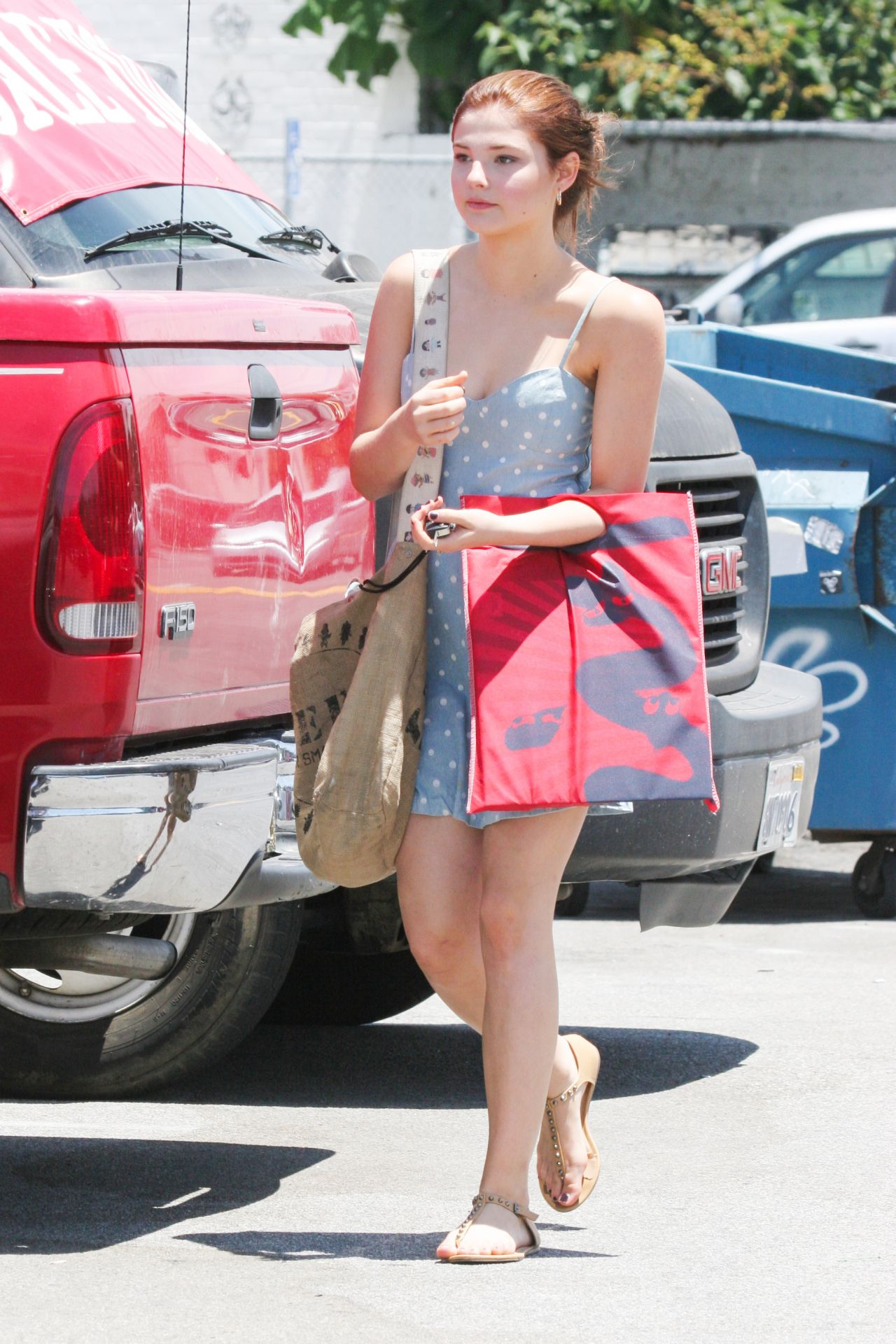 Stefanie Scott - Out Shopping in Los Angeles - July 2014