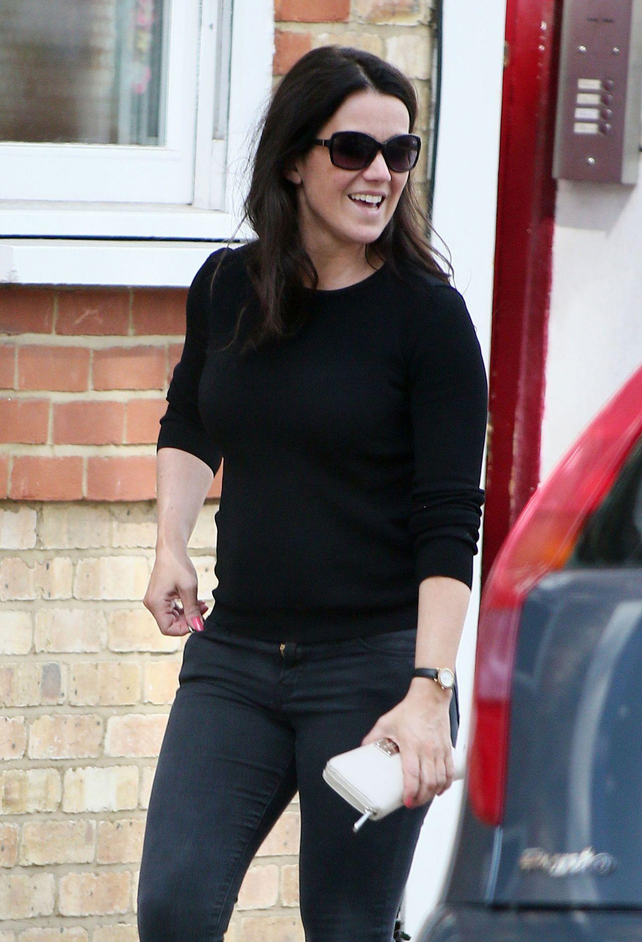 Susanna Reid Street Style Out In London July 2014