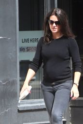 Susanna Reid Street Style - Out in London, July 2014