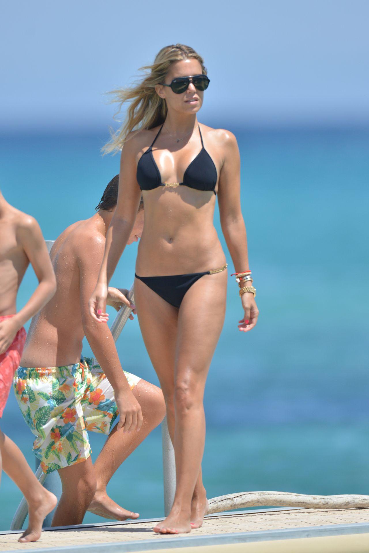 Hottest Bikini Trends Photos: Sylvie Meis Hot Bikini Pictures