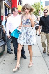 Taylor Swift Casual Style - Out in NYC, July 2014