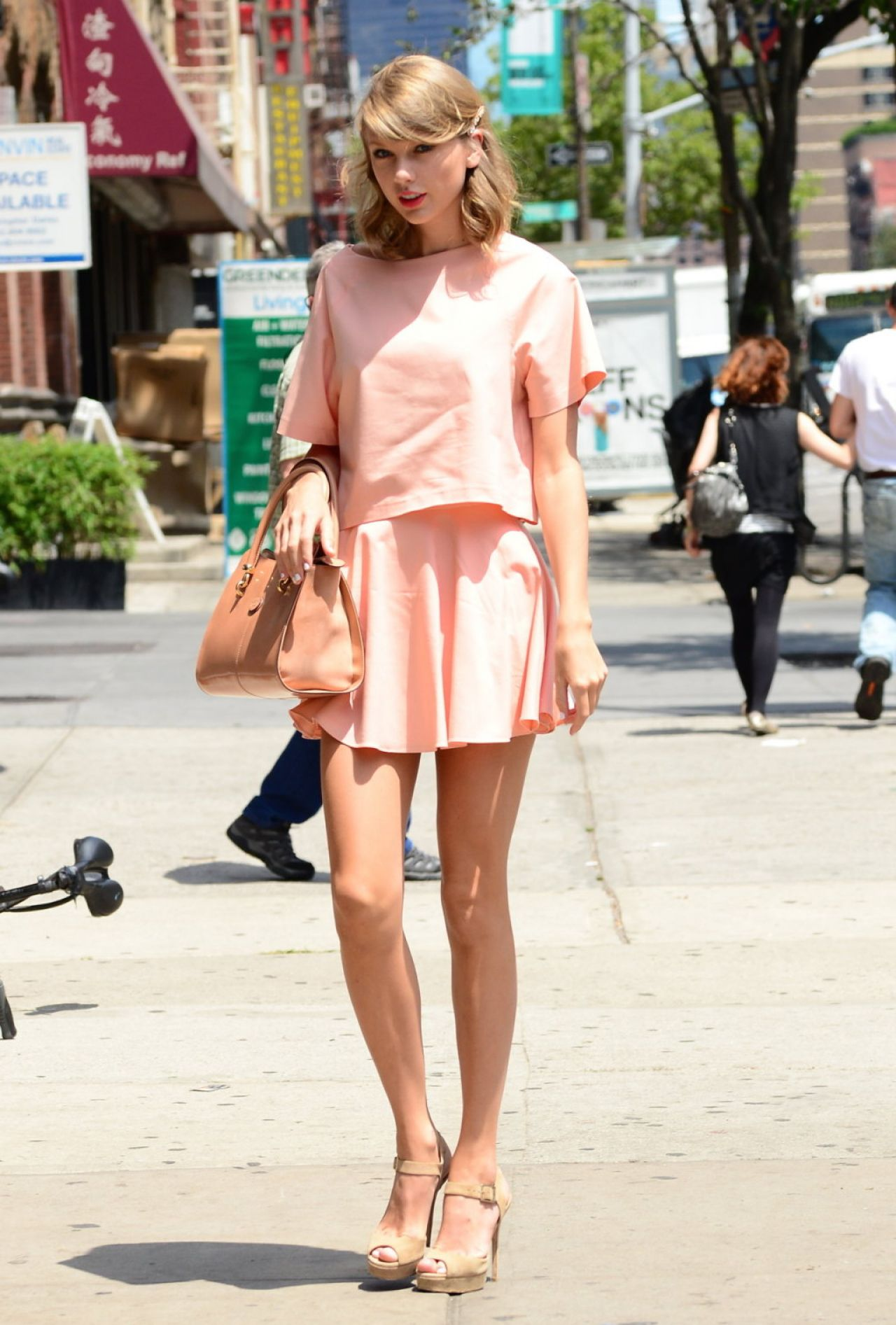 Taylor Swift Out And About In New York City July 2014
