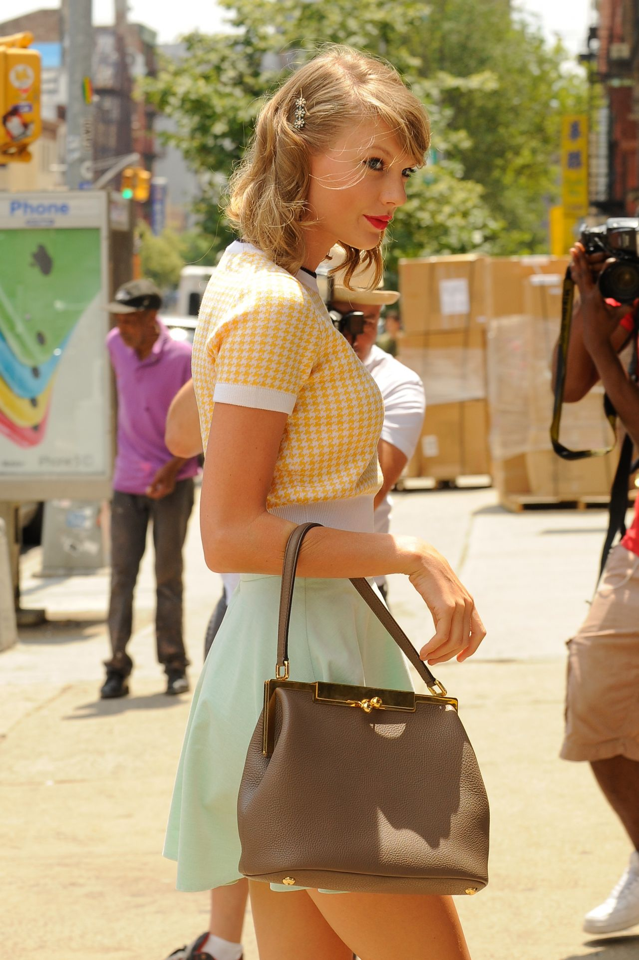 Taylor Swift Out in New York City – July 2014