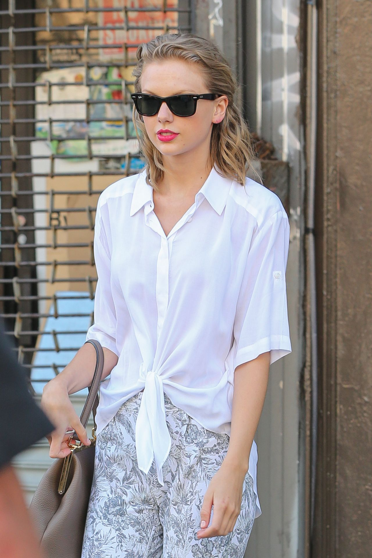 Taylor Swift Street Style - Leaving a Gym in New York City - June 2014