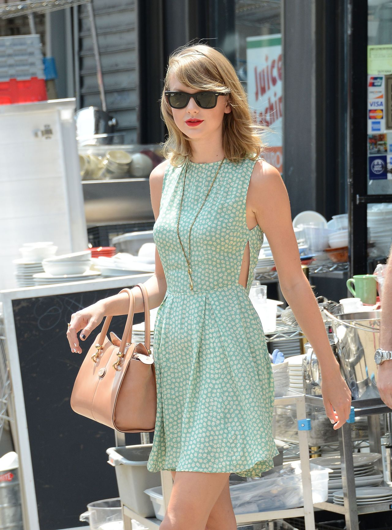 Taylor Swift Street Style Out In New York July 2014