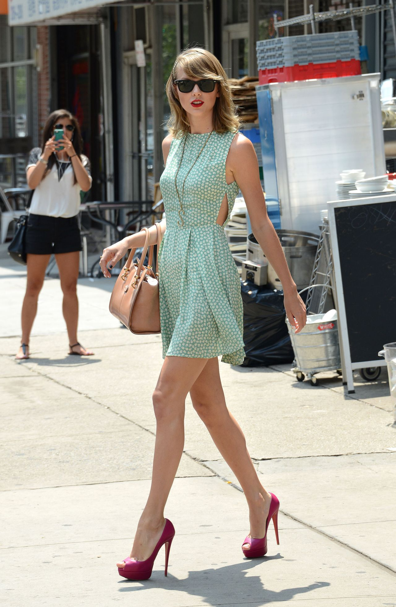 Taylor Swift Street Style – Out in New York – July 2014