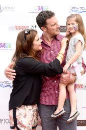 Tiffani Thiessen - CMEE 2014 Family Fair in Bridgehampton (NY)