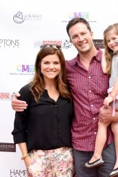 Tiffani Thiessen - CMEE 2014 Family Fair in Bridgehampton (NY)