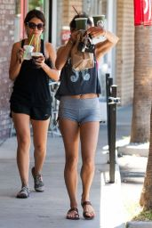 Vanessa Hudgens Hot in Shorts - Out in Studio City, July 2014