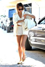 Vanessa Hudgens Leggy - Out in West Hollywood - July 2014