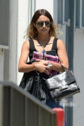 Vanessa Hudgens Street Style - Out in Los Angeles, July 2014