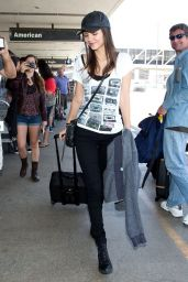 Victoria Justice Street Style - LAX Airport - june 2014