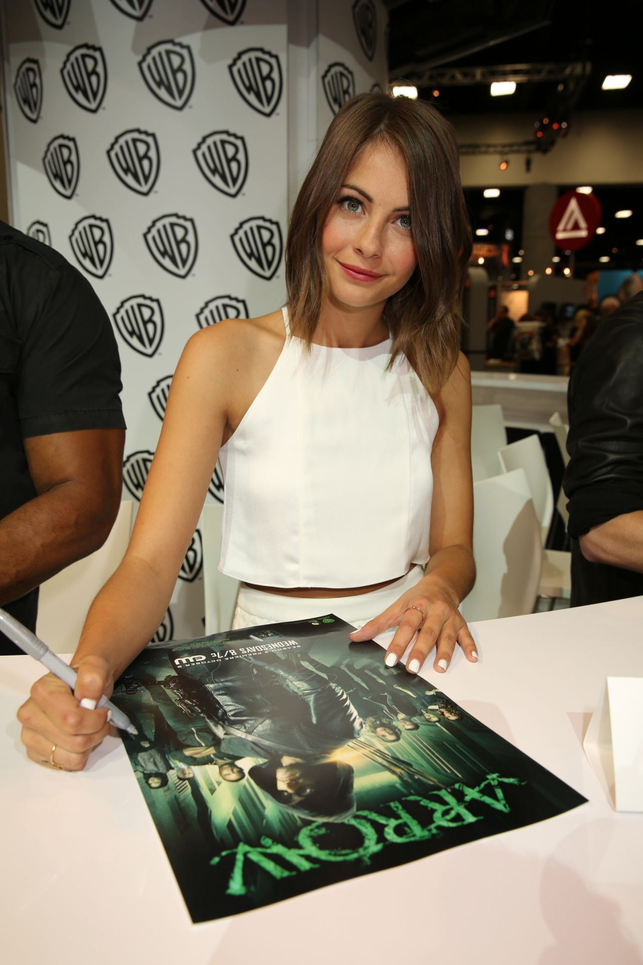 Willa Holland - Warner Bros. at Comic-Con 2014 in San Diego