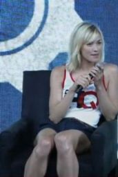 Yvonne Strahovski - Nerd HQ Panel at Comic-Con 2014 in San Diego