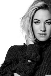 Yvonne Strahovski - Photoshoot for InStyle Magazine (UK) August 2014