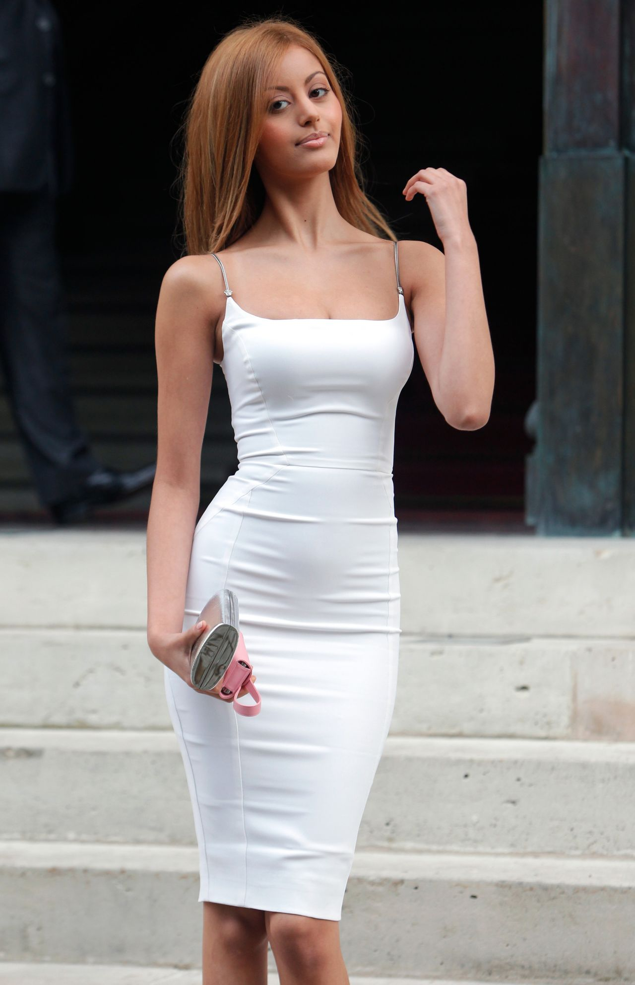 foto de Zahia Dehar at Versace Haute Couture Fall/Winter Fashion Show July 2014