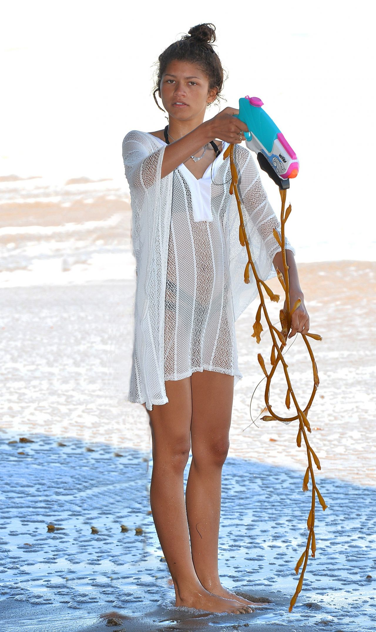 2019 Malibu >> Zendaya Coleman Bikini Candids - Beach in Malibu, July 2014
