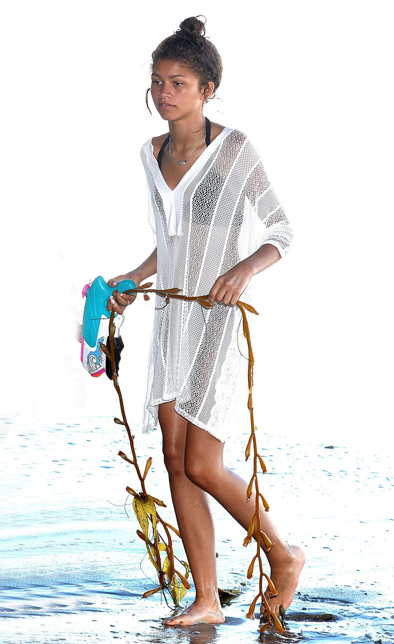 Zendaya Coleman Bikini Candids     Beach in Malibu  July 2014Zendaya Coleman At The Beach