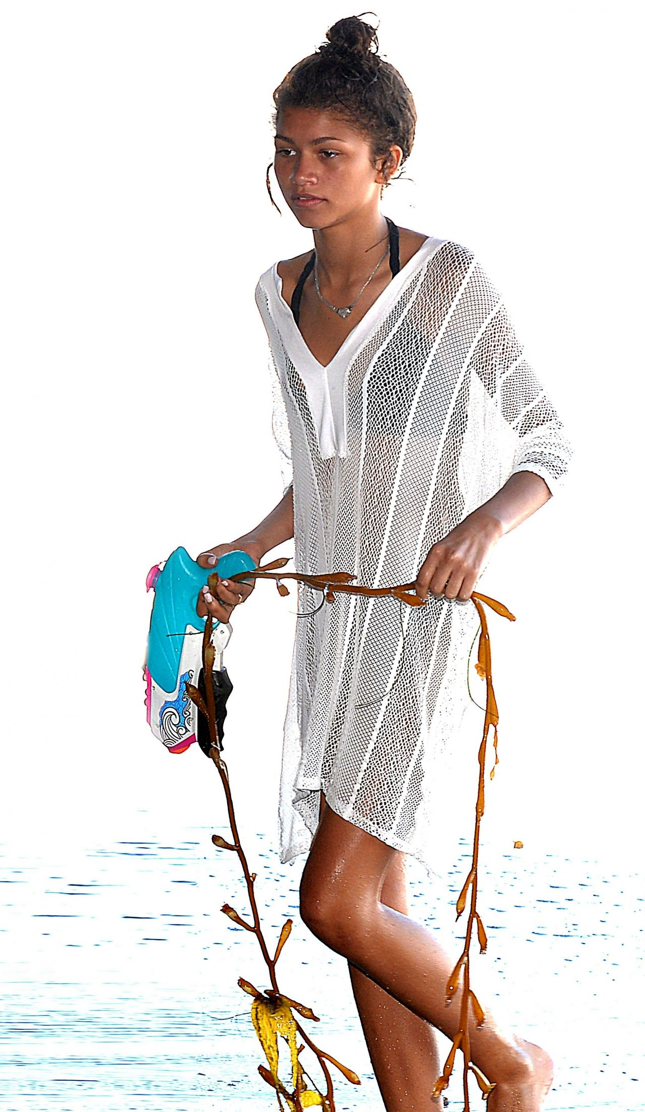 Zendaya Coleman Bikini Candids     Beach in Malibu  July 2014Zendaya Bikini 2014