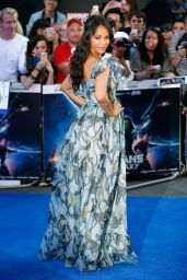 Zoe Saldana – 'Guardians Of The Galaxy' Premiere in London