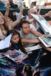 Zoe Saldana – 'Guardians Of The Galaxy' Premiere in London